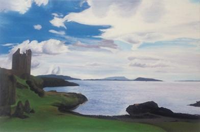 Kerrera Island, 2014, 80cm x 120cm, Öl auf Leinwand