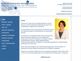 2006, Homepage im Auftrag von hompa-albis