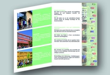 2012, Broschüre und Fotografien, Leitbild im Auftrag von Schule am Uetliberg