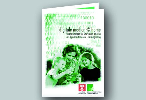 2015, Broschüre, digitale medien @ home im Auftrag von Gesundheitsförderung Kanton Nidwalden