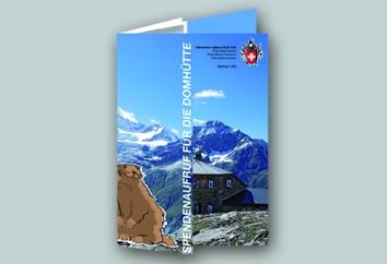 2012, Broschüre, Spendenaufruf 1 im Auftrag von SAC Sktion Uto