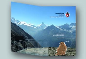 2012, Broschüre, Spendenaufruf 2 im Auftrag von SAC Sktion Uto