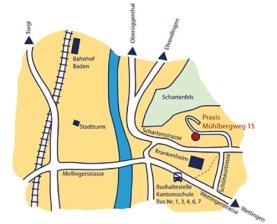 2011, Karte für Praxis Dr. Danja Graf